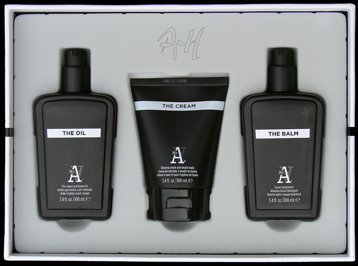 Pack ahorro afeitado Mr. Alfredo: The Oil + The Cream + The Balm de I.C.O.N.