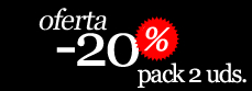 Oferta -20% pack 2 unidades