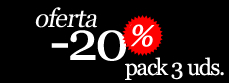 Oferta -20% pack 3 unidades